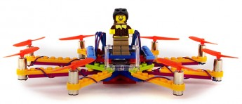 Denne Lego-dronen tåler å krasje