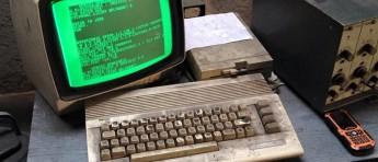 Her bruker de fortsatt Commodore 64 hver dag